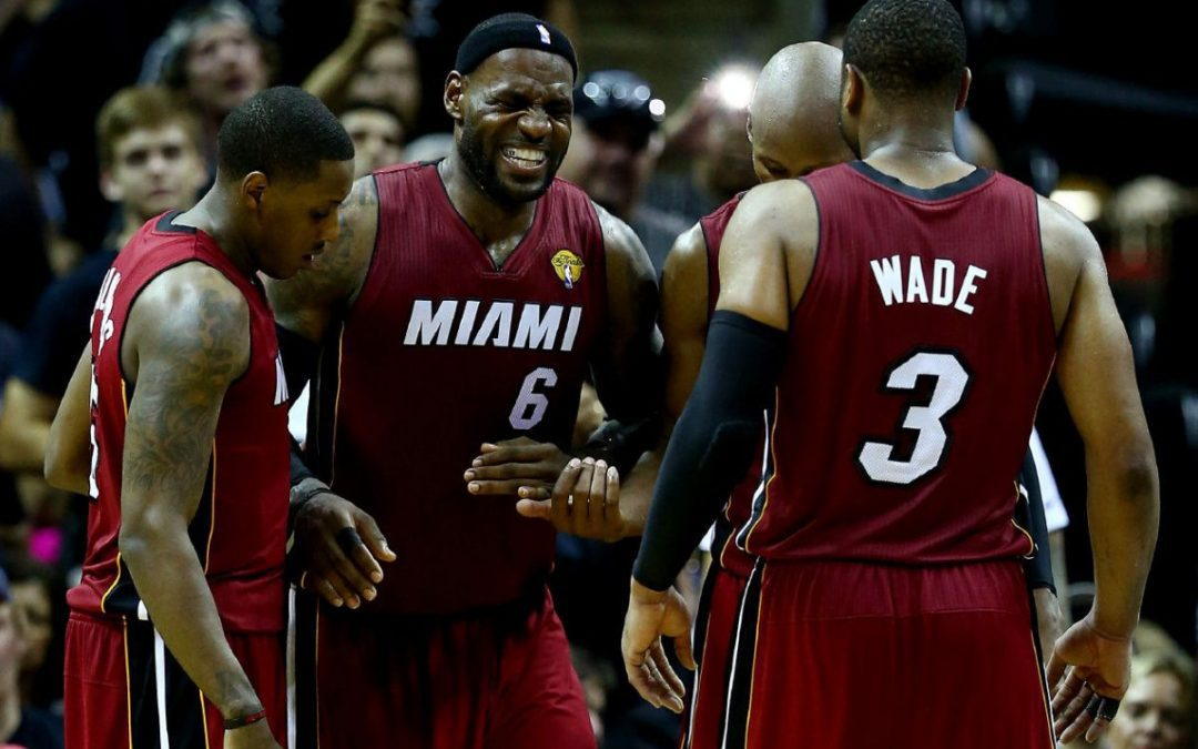 NBA finals: King James no stranger to cramps