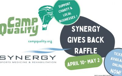 Win Big & Support a Wonderful Cause with the Online Synergy Gives Back Raffle